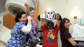 How Pro Wrestler Rey Mysterio Is Helping One Little Boy In His Fight Against A Brain Tumor