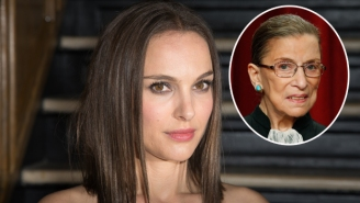 Natalie Portman Will Play Supreme Court Justice Ruth Bader Ginsburg In A Movie
