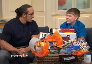 Pro Wrestler Adrian Neville Makes This Courageous 11-Year-Old Boy's Day
