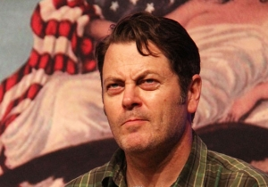 Nick Offerman Understands Why You're Offended By His Clean-Shaven Face