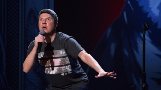 Nick Swardson Is Back With 'Taste It' And He's Ready To Be The Celebrity Face Of The Timberwolves