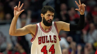 Nikola Mirotic Buried A Half-Court Buzzer Beater To Silence Cleveland