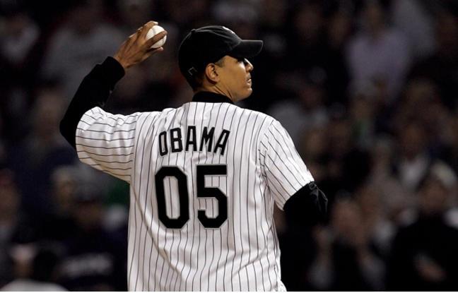 Obama White Sox