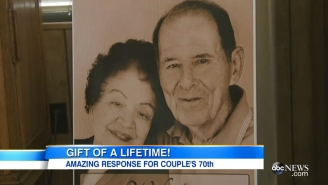 This Adorable Couple Received Dozens Of Letters From Celebrities And Presidents On Their 70th Anniversary