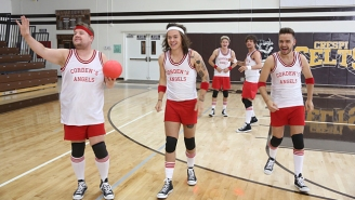 Watch One Direction Play A Heated Game Of Dodgeball On 'The Late Late Show'