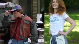 'Back to the Future' fans, now you can be en vogue with inside-out pants