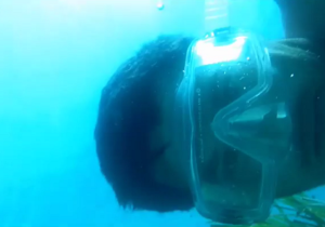 This Phone Fell To The Ocean Floor Camera-Side Up And Kept Recording