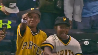 Watch Andrew McCutchen Make Some Fans For Life By Giving Away His Batting Gloves