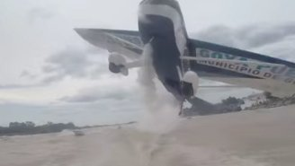 Watch These Men Almost Get Killed By A Plane While They Are Boating