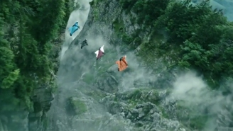 The 'Point Break' Extreme Stunt Featurette Will Blow Your Mind, Man