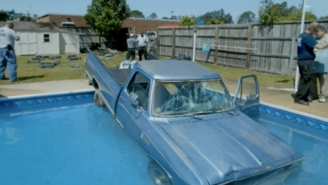Meet Caroline, The Dog Who Drove Her Family's Truck Into A Swimming Pool