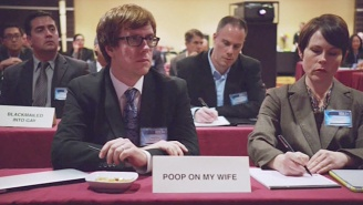 All Of The Hilarious Adult Film Conference Delegates On This Week's 'Silicon Valley'