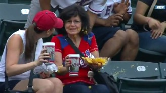 This Is What It Looks Like When A Foul Ball Destroys Your Plate Of Nachos