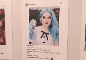 This Artist Sold Others' Instagram Photos For Nearly $100K At A Recent Art Show