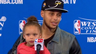 The Year Of Riley Curry Continues At The Kids' Choice Sports Awards