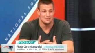 Rob Gronkowski Sounded Really Uncomfortable Talking Deflategate On 'SportsCenter'