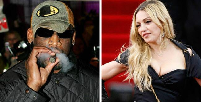 Rodman and Madonna