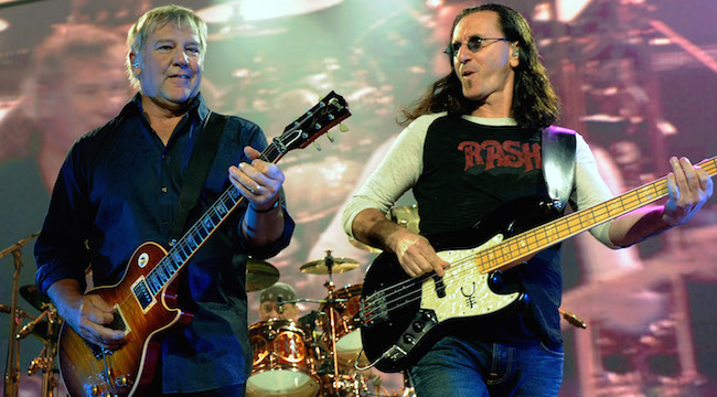 Rush band Alex Lifeson Neil Peart Geddy Lee Rash t-shirt