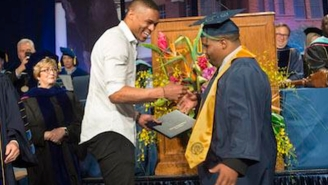 Russell Westbrook's Brother Got A Special Treat At His College Graduation Ceremony