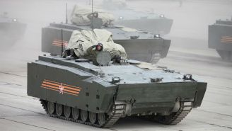 The Next Generation Of Russian Tank Uses A Gamepad To Steer
