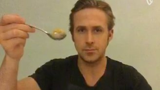 Ryan Gosling Paid Tribute To Ryan McHenry's Famous Internet Meme By Finally Eating His Cereal