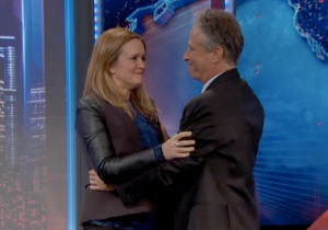 Watch Samantha Bee's Emotional 'Daily Show' Farewell