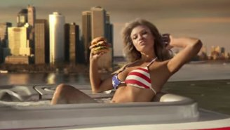 Samantha Hoopes Wants You To Eat Carl's Jr.'s 'The Most American Thickburger'