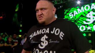 Watch Samoa Joe Make His WWE Debut At Last Night's NXT Live Special