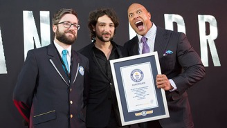 The Rock Has Now Conquered The World Record For Taking Selfies