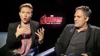 Scarlett Johansson 'Didn't Understand' Her Pairing With The Hulk In 'Avengers: Age Of Ultron'