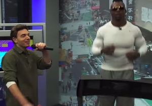 Watch An Unusually Jacked P. Diddy Running On A Treadmill In The Latest 'Scheer-RL'
