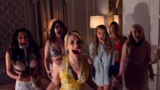 The First Official 'Scream Queens' Trailer Reveals A Masked Red Devil Serial Killer