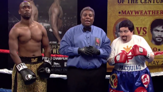 'SNL' Opened With A 'Pirated Stream' Of Mayweather Vs. Pacquiao That Was Better Than The Real Fight