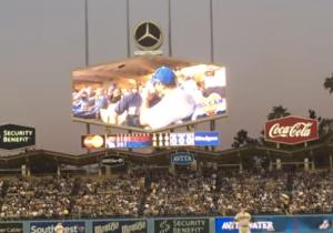 Dodger Stadium Applauds Two Men Captured On The Kiss Cam