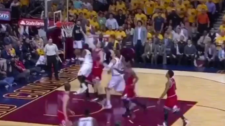 Kyrie Irving's Impossible Dribbling Leads To An Impossible Lay Up