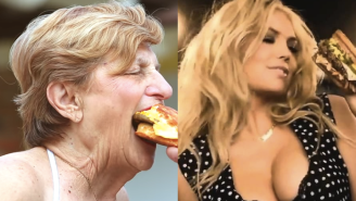 This Grandmother Is Gunning To Be The Next Kate Upton For Carl's Jr.