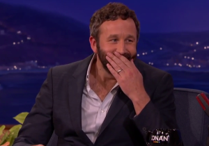 Chris O'Dowd Let Conan In On The Long Game Prank He's Playing On His Infant Son