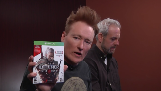 Conan Gives 'The Witcher III: Wild Hunt' A Very Arousing 'Clueless Gamer' Treatment