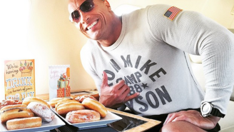 Watch This Guy Attempt To Copy The Rock's Insane Eating Plan For A Day