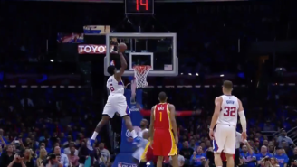 Another Game, Another Ridiculous Chris Paul To DeAndre Jordan Alley-Oop