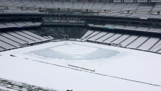 How The Hell Are The Rockies Going To Play A Game In This?