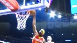 Here's Corey Brewer Blowing A Wide Open Dunk In Epic Fashion
