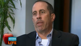 Jerry Seinfeld Is Not A Fan Of Jimmy Kimmel's Show Of Respect For David Letterman