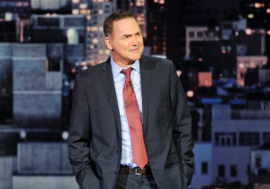 Norm Macdonald Issues A Tearful 'I Love You' To David Letterman At His Final 'LateShow' Appearance