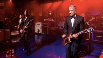 Watch Foo Fighters Send Off David Letterman In Classic Fashion With 'Everlong'
