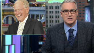 Watch Keith Olbermann's Tribute To David Letterman's Best Sports Moments