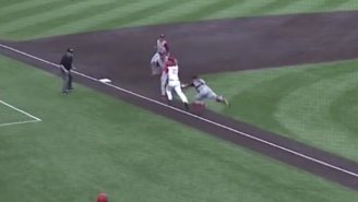 Indiana Hoosiers Catcher Leads The Way In This Awesome Triple Play