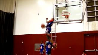 Top High-School Recruit Terrance Ferguson Pulls Off A Dunk We've Never Seen Before