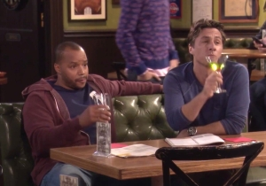 J.D. And Turk From 'Scrubs' Reunited On 'Undateable' Last Night