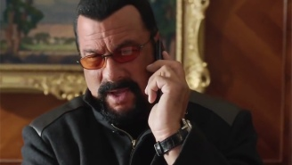 'I'm Asian,' And Other Great Moments From Steven Seagal's Ongoing Press Tour